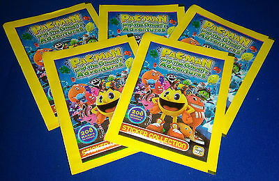 Pac-Man and the Ghostly Adventures 5 Unopened Sticker Packs