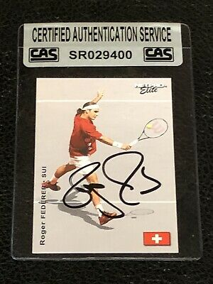 Roger Federer 2003 Netpro Elite Signed Autographed Card #E3 Tennis Cas Authentic