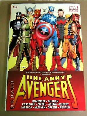 Uncanny Avengers Omnibus Variant Remender Hardcover Hc Rare Out Of Print Nm-M+!!
