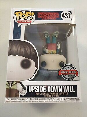 Funko Pop! Television Stranger Things Upside Down Will #437 W/Protector
