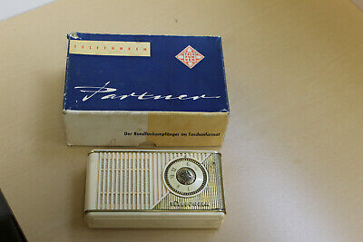 Vintage Telefunken Transistor Radio in Original Box-Partner II