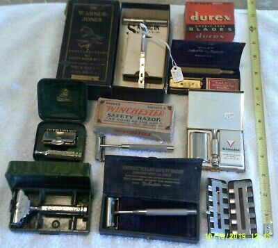 Vintage Shaving Items, Large Mixed Lot (N)