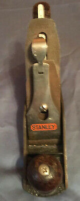 Vintage Stanley Bailey No. 3 Smooth Bottom Woodworking bench plane !!!
