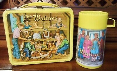 Vintage 'The Waltons' Aladdin Lunchbox W/Thermos (1973)
