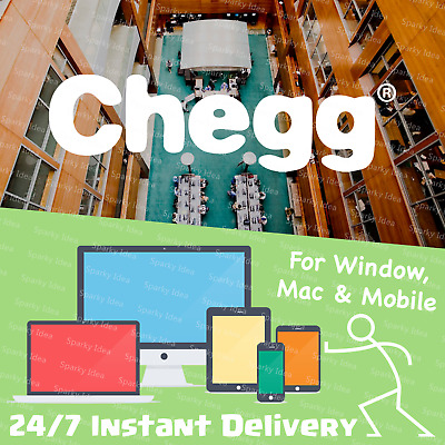 ⚡️Instant Delivery⚡️ Chegg Study Pack 30-Day Subscription Non-Sharing Account