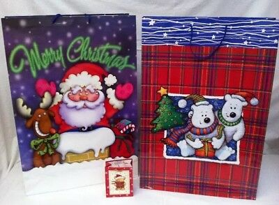 Job Lot Of 400 Giant Large Christmas Gift Bags Xmas Presents Wrapping Toy Bag