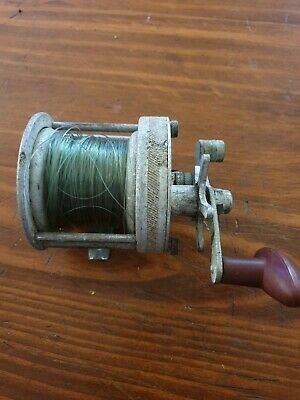 Vintage Surfmaster Overhead Fishing Reel. Full Working Condition.
