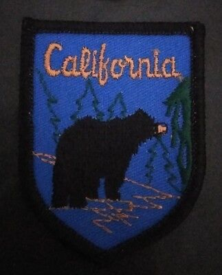 Vintage California Brown Bear Patch