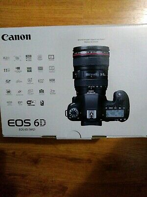 New Canon EOS 6D (WD) Digital SLR Camera Body