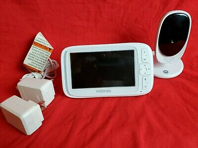 "Motorola Comfort 50 Video Baby Monitor w/ 5"" Color Display Digital Zoom & Camera"