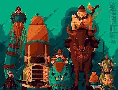 Undiscovered Country #1 Tom Whalen, wrap-around variant! Only 600 copies!
