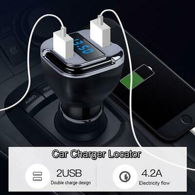 Dual USB Car Charger Tracker GPS Locator Real Time GSM GPRS Vehicle Tracking*hot