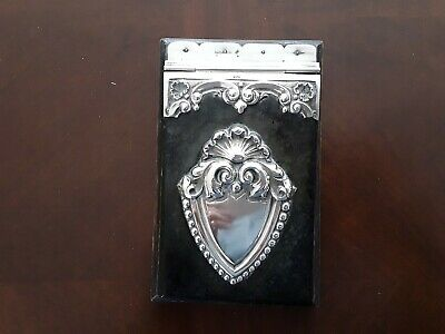 Vintage silver mounted desk accessory