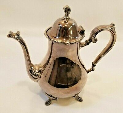 Vintage Wilcox International Silverplated Pitcher Joanne 7201