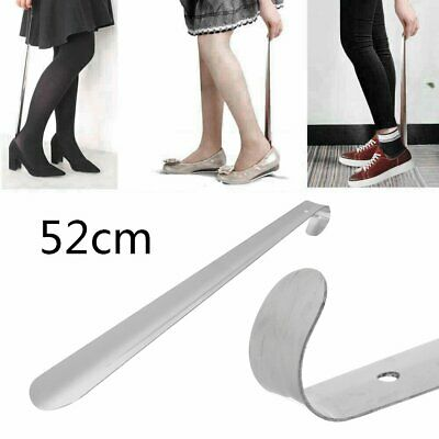 52cm Long Stainless Steel Shoe Horn Metal Boot Wellie Remover Disability