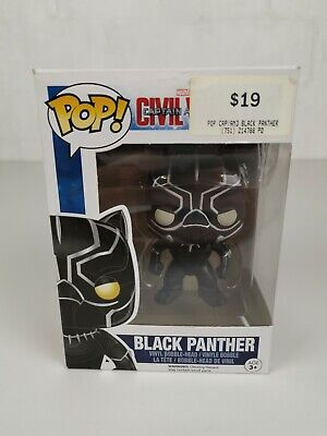 Captain America: Civil War - Black Panther #130 Funko Pop Vinyl Marvel Avengers