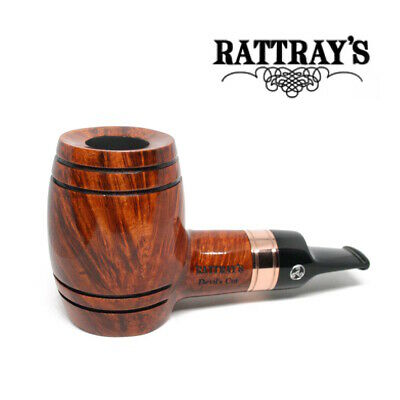 NEW Rattrays - Devil's Cut - Terracotta - Reverse Calabash - 9mm Filter Pipe