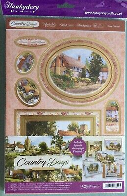 Hunkydory Country Days Luxury Card Collection