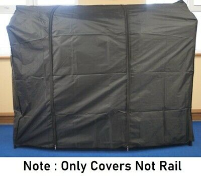 Nylon Black Heavy Duty Strong Clothes 6ft Rail Cover (cover only)