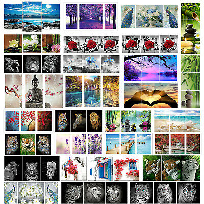 3-Pictures 5D Diamond Painting Full Diamant Kreuzstich Stickerei Malerei Bild