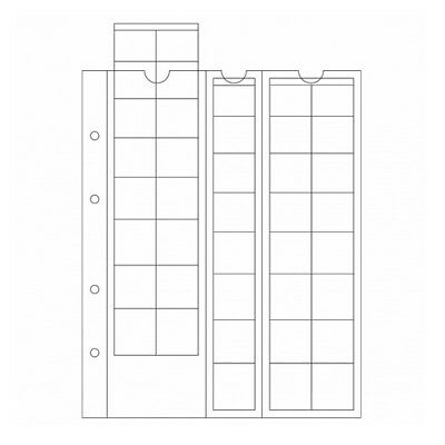 Pack of 5 sheets Lighthouse OPTIMA for corners from 1 hundred to 2