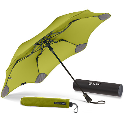 BLUNT XS Metro Pink Strong Compact Collapsible Folding Automatic Umbrella