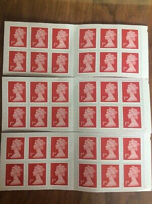 36 Royal Mail First Class Stamps