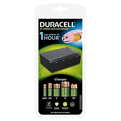 Duracell Universal Hi-Speed Multi Battery Charger