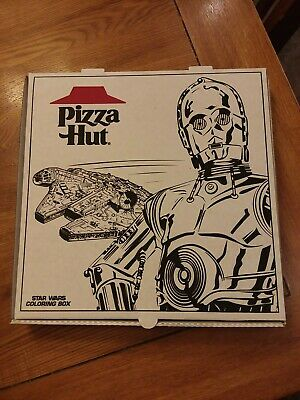Pizza Hut Star Wars Carry-Out Boxes  From 1997