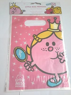 party bags new little miss princess loot party favour gift bag
