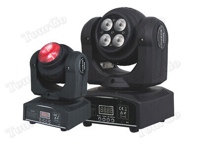 50W Double Face RGBW LED Moving Head Beam/Wash Stage Light DMX 512 DJ Stage
