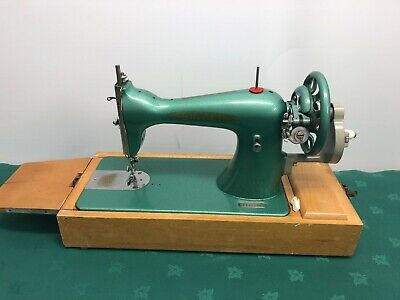 Antique Untested Singer Sewing Machine No 15K80 With Case Vintage Collect SK10