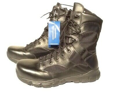 """Reebok RB8835 Dauntless 8/"""" Tactical Boots with Side Zipper"""