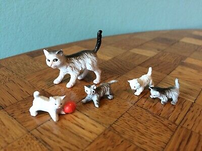 Katzen Lundby Puppenhaus Puppenstube 1:18 dollhouse cats cat
