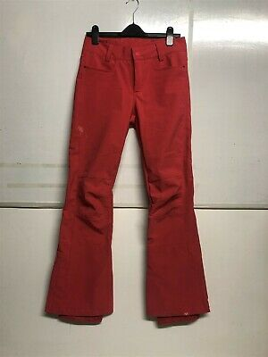 ROXY Creek Ski Snowboard Trousers Coral/Pink Dry Flight Women's Size Medium