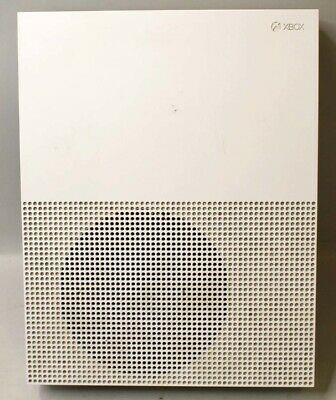 BROKEN Microsoft Xbox One S 500GB Console Only - White Model 1681