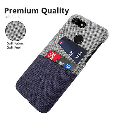 For Google Pixel 3a XL 4 XL 2 XL Case Ultra Slim Hard PC Card  Shockproof Cover