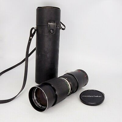 Mamiya Sekor 90-230mm f/4.5 ES Zoom Lens for Auto XTL Camera Mint Condition