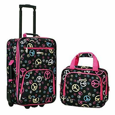 Girls Travel Suitcase Luggage Sets w/Wheels Children Carry On Cute Bag For Kids