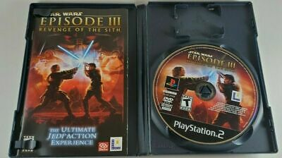 Star Wars: Episode III 3 Revenge of the Sith for PS2 Complete CIB Black Label