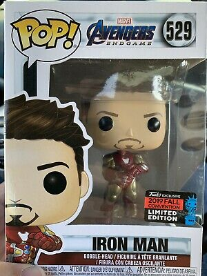 Funko Pop! Iron Man Gauntlet #529 NYCC 2019 Avengers Endgame Marvel! Sold Out!