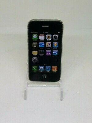 Apple iPhone 3G A1241 16GB AT&T Factory Reset Black Good Condition Working