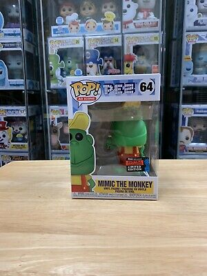 Funko Pop Mimic The Monkey PEZ 2019 NYCC Exclusive Shared Sticker MINT!