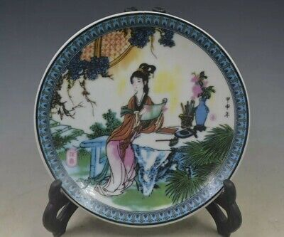 China  Collection porcelain  Hand Painted  Handmade plate