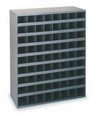 STEEL BIN SHELVING 72 Pigeonhole Compartments Parts Fittings Garage Storage Shop