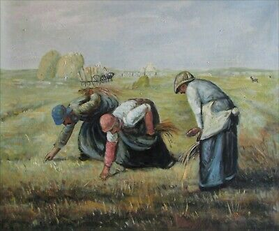 Quality Oil Painting Repro Millet, Jean-Francois the Gleaners, 20x24in