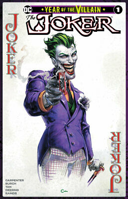 Joker Year Of The Villain #1 Clayton Crain Trade Dress Variant Nm Lmtd To 1000