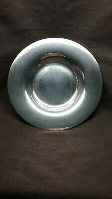 Grogan Company Sterling Silver Saucer By Tuttle Silversmiths.