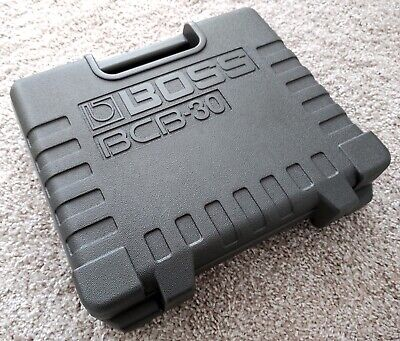 --- BOSS --- BCB-30 Guitar Effect Pedal Board Case w/ Godlyke PA-9S Power Supply
