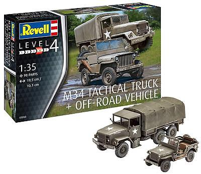 1:35 Scale 13.1 cm Multi-Color Revell 03246 British 4x4 Off-Road Vehicle 109 Model Kit
